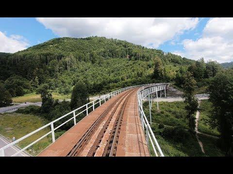 Driver s Eye View - Tisovec to Zbojská - Standard Gauge - Rack Railway  (Slovakia) ec34a105847