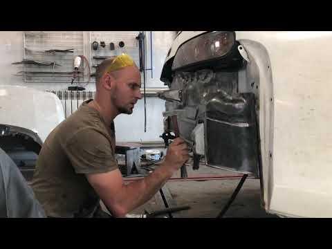TOYOTA SUPRA   Восстановление кузова   Body restoration