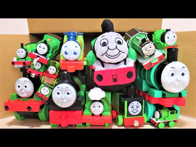 Thomas & Friends Lots of Percy toys come out of the box RiChannel