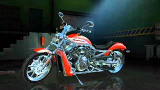 Harley Davidson - Race to the Rally - 2006 VRSCR