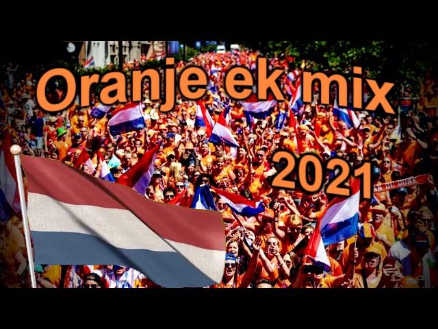 Oranje EK mix - Oranje sfeer mix 2021!