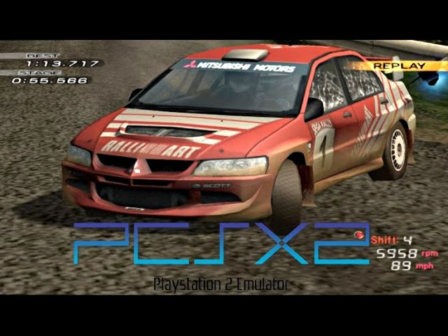 Sega Rally 2006 PS2 PCSX2 Widesceen HD 60fps