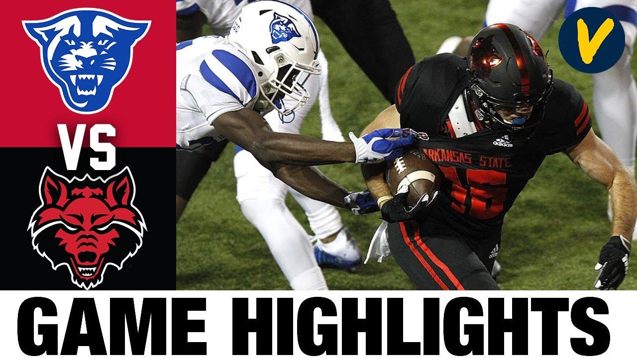 Georgia State vs Arkansas State Highlights   Week 7 2020 College Football Highlights