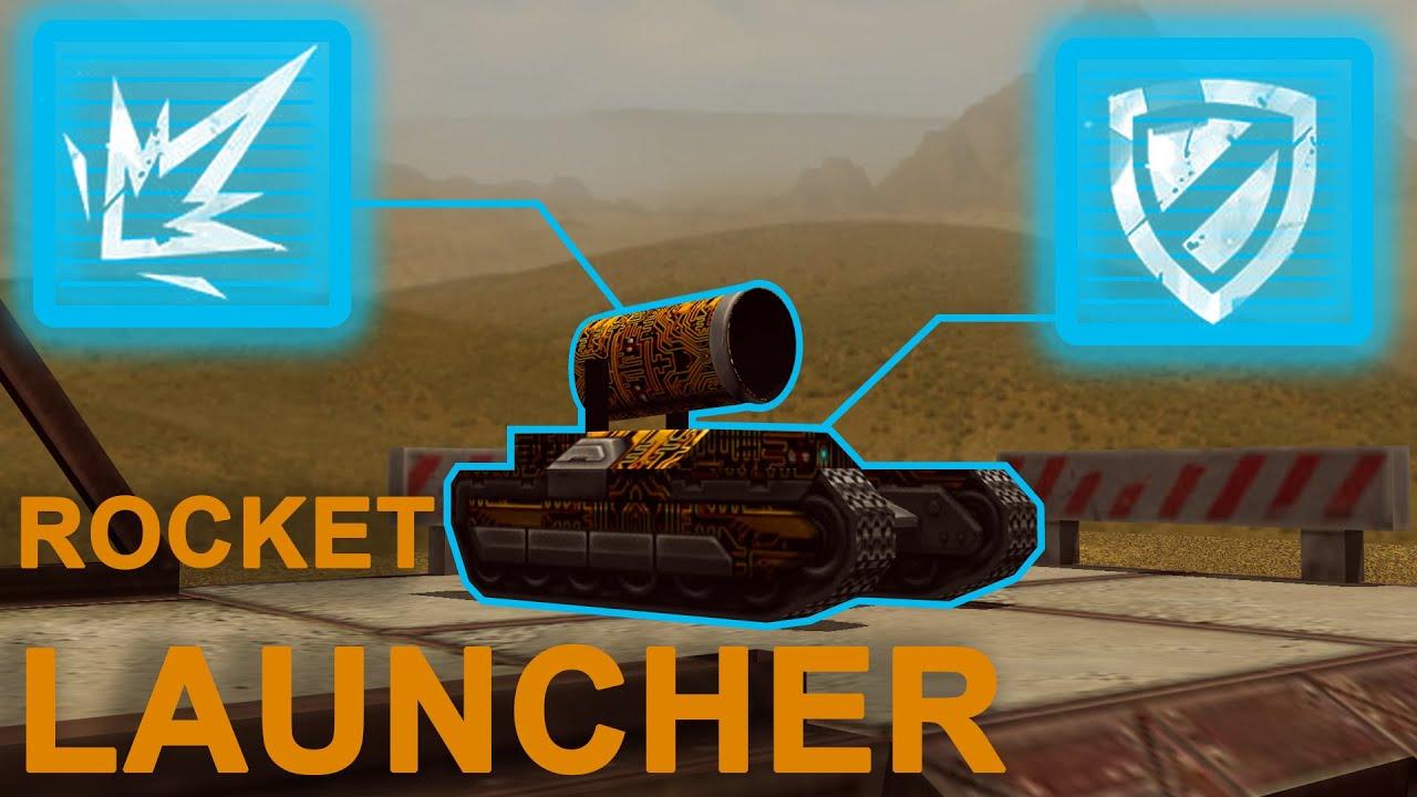 Rocket Launcher First Prototype! - Tanki Online - YouTube