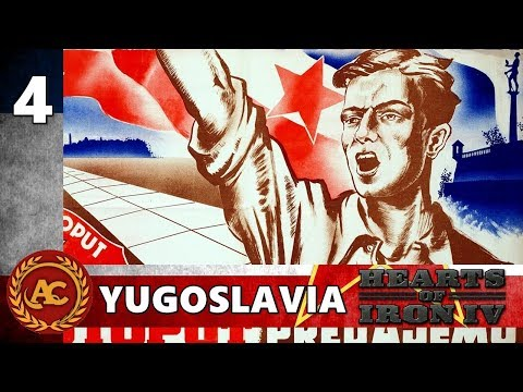 HOI4 Death or Dishonor - Yugoslavia #4| Gameplay ITA