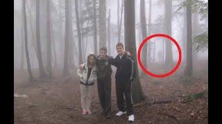 7 Реальных и Страшных Встреч с Загадочными Существами в Лесу,снятые на Камеру
