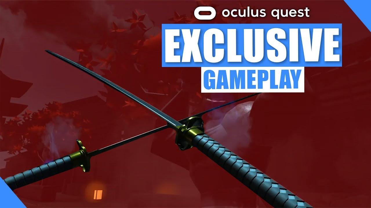 Ninja Legends Oculus Quest Gameplay overview via Youtuber BMF