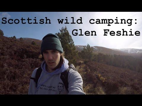 Scotland wild camping: Glen Feshie! 2/3 - YouTube
