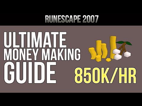 OSRS | Ultimate Money Making Guide - 850k/hr [Runescape 2007] Rs Wiki