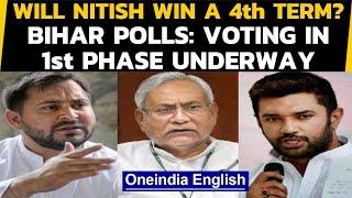 Bihar Polls 2020: Voting in 1st phase underway, amid Coronavirus guidelines Oneindia News