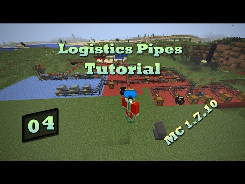 Logistics Pipes Tutorial - #4 - Crafting & Processing