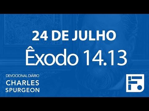 24 de julho – Devocional Diário CHARLES SPURGEON #206