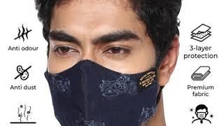 Royal Enfield Viral Off Polygiene treated masks