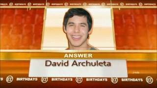 43-54 David Archuleta @ ETonline BDAY QUIZ (28 Dec 2011)