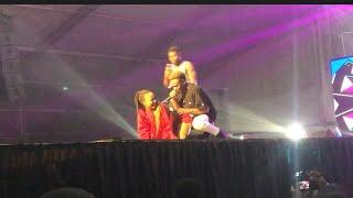 Eeei Macasio Grinds Akuapem Poloo - Shatta Wale Reign Concert