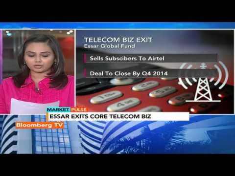Market Pulse: Essar Exits Core Telecom Biz