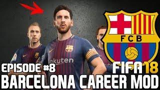 ЭТО КОНЕЦ ? КОНЕЦ СЕЗОНА?   FIFA 18   Карьера тренера за Барселону [#8]