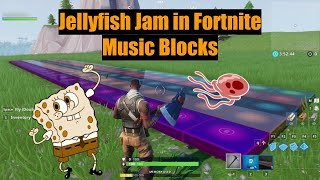 THEY ADDED JELLYFISH JAM TO FORTNITE!? (new music blocks)