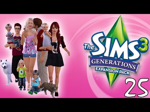 Let's Play: The Sims 3 Generations - Part #25 - Ryan, Ray, Jessa, and Alan!