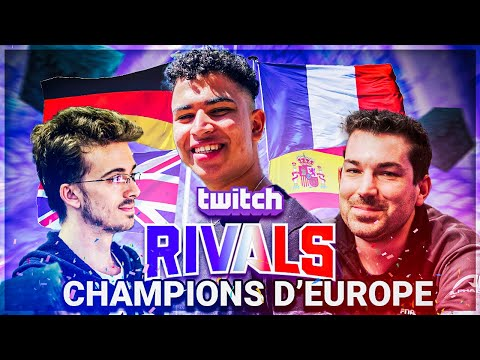 CHAMPION D'EUROPE ?? (Twitch Rivals Europe)