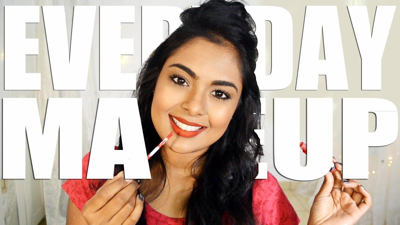 everyday makeup for work school job interview quick