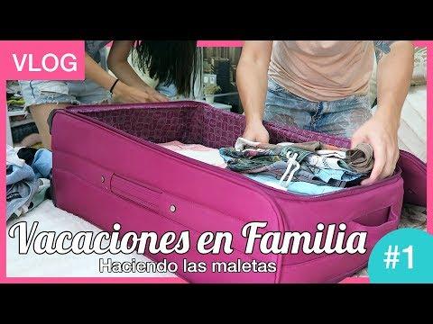 Preparando las maletas | Vacaciones en familia #1
