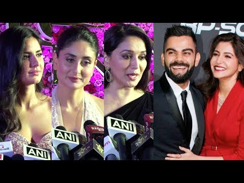 Bollywood Celebs' Weird Reaction On Anushka Sharma- Virat Kohli Marriage | Lux Golden Rose Awards Mp3