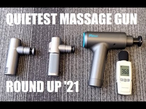 Quietest Massage Gun Round Up (2021)