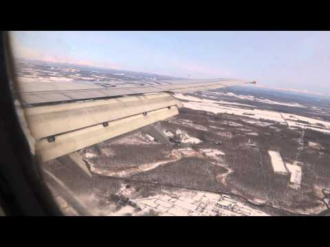 CA169 Landing at New Chitose Airport(CTS)