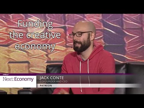 Funding the creative economy - Jack Conte (Patreon)