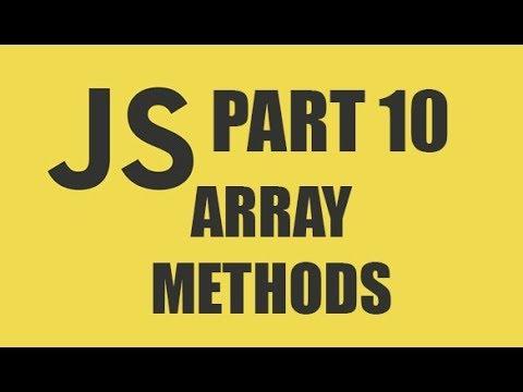 #basicjavascripttutorial JAVASCRIPT TUTORIAL || ARRAY METHODS || FOR ABSOLUTE BEGINNERS!! thumbnail
