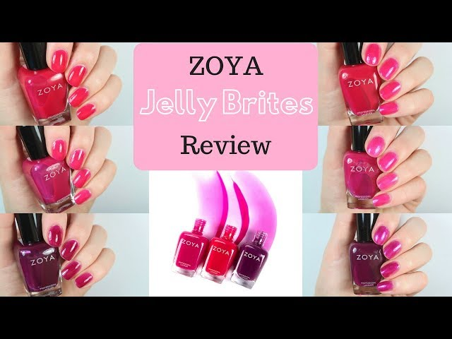 ZOYA Jelly Brites Swatch and Review