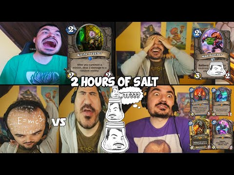2 HOURS OF KRIPP SALT [Ep. 91-100] Hearthstone Funny And Lucky Moments Compilation
