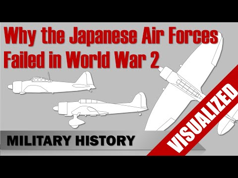 Why the Japanese Air Forces failed in World War 2
