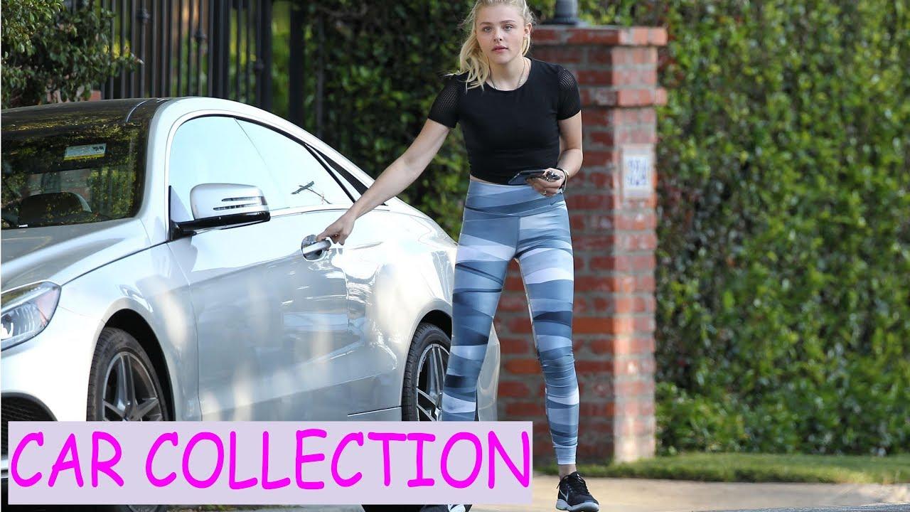 photo of Chloë Moretz  - car