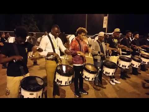 Jim Hill High School Alumni and G.Y.T. Drumline (PART ONE) - BATTLE OF THE DRUMLINE