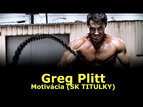 Greg Plitt - Motivácia (SK TITULKY)