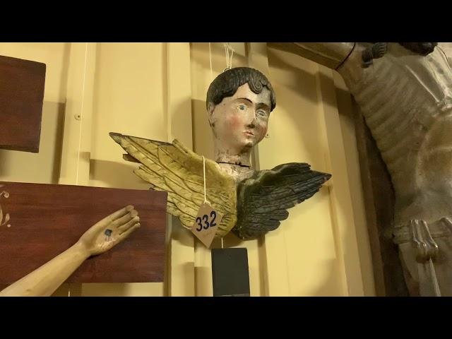 Экскурсия в фонды пермской деревянной скульптуры