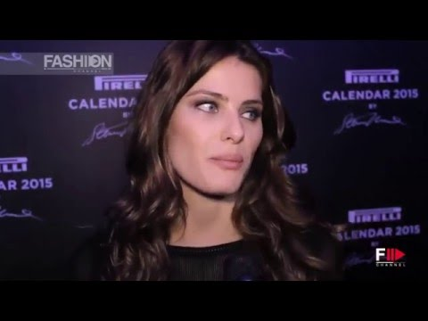 PIRELLI CALENDAR 2015 Interview to ISABELI FONTANA  by Fashion Channel