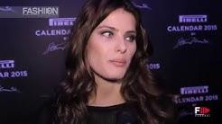 PIRELLI CALENDAR 2015 Interview to ISABELI FONTANA  by Fashion Channel