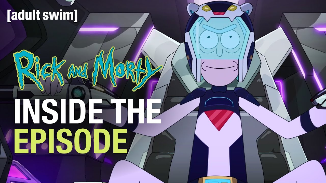 Inside the Episode: Gotron Jerrysis Rickvangelion | Rick and Morty | adult swim