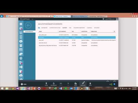 DRM PlayReady configuration with Azure Media Services