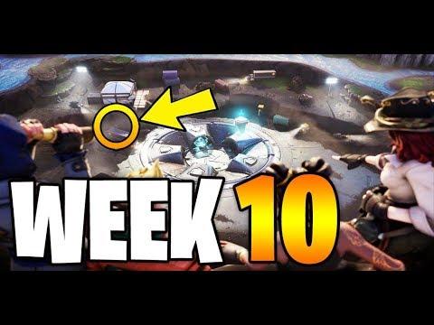 Fortnite Secret Battle Pass Star Banner Season 8 Week 10