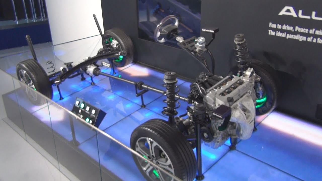 Suzuki All Grip Chassis (2016) Exterior and Interior in 3D - YouTube