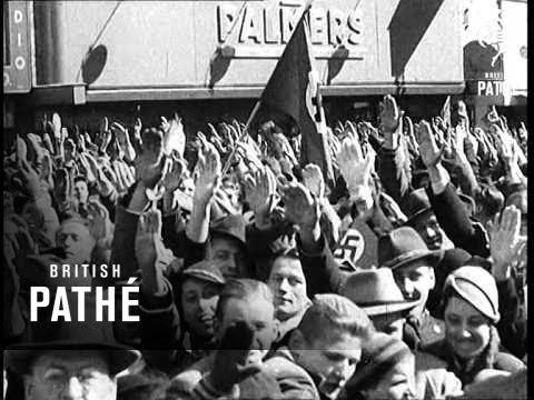 German Troops March Into Austria (1938)
