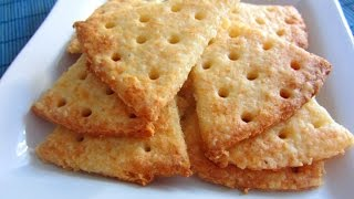 Хрустящий сырный крекер к пиву