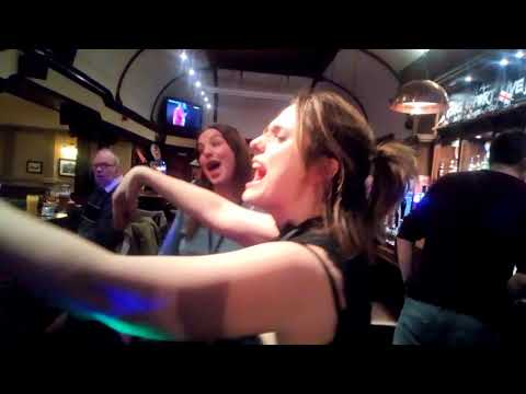 Raynes Park tavern part 1 karaoke 26th Jan 2018