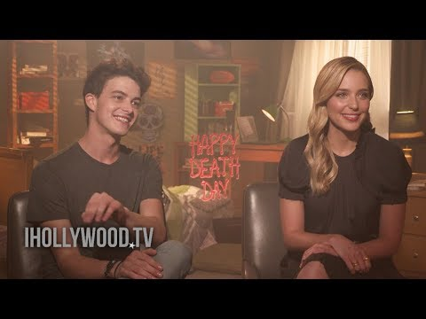 HAPPY DEATH DAY  Jessica Rothe & Israel Broussard  2017 Horror Movie HD