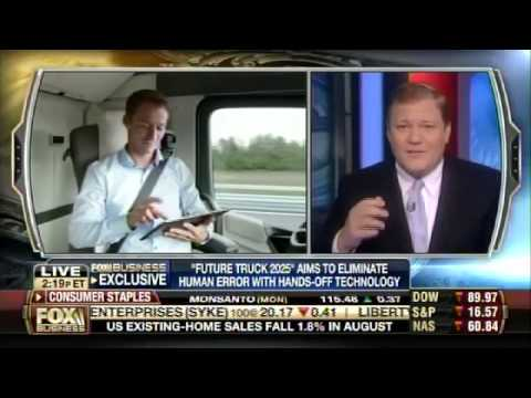 Bruce Turkel on Fox Business: Mercedes to make autonomous-driving big rigs.