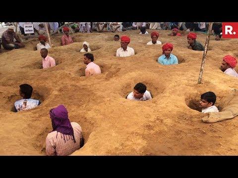 Jaipur Farmers Protest Against Land Acquisition